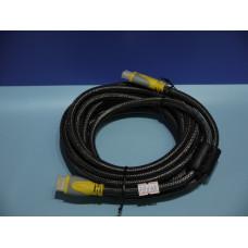 Шнур HDMI шт. - HDMI шт.  5,0м с фильтрами HDMI CABLE