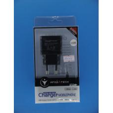 Адаптер 220 => 2*USB + шнур usb-iPAD 5 (5V 2,1А) AFKA-TECH1105 G5