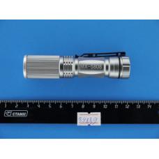 Фонарь ручной  1 диод яркий (1*R6)  линза+zoom BL-5808