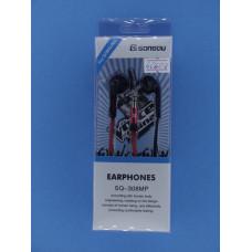 Наушники EARPHONES SQ-308MP вакуумные