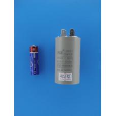Конденсатор FUJI CBB60 (2+2pins)  20 uF 450v 40х70 (min 25) SAND