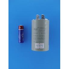 Конденсатор FUJI CBB60 (2+2pins)  30 uF 450v 45х75 (min 25) SAND