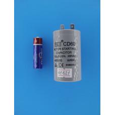 Конденсатор FUJI CD60 (1+1pin) 100 uF 300v 40х70 (min 25) Aluminium