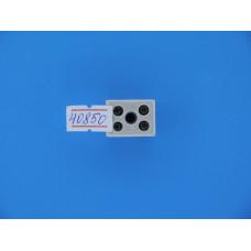 Соединитель эл. проводки  2,5 кв. мм 2*2 (керамика)