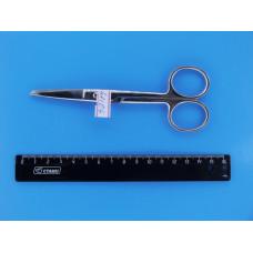 Ножницы медицинские Н33  140мм (1 остр. прямой)