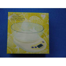 Весы электронные бытовые 5кг / 1г KE-1 чашка