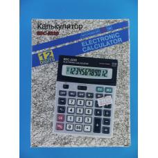 Калькулятор SDC-2238 (12 разр.,настольн.,крупн.кн. и диспл.)
