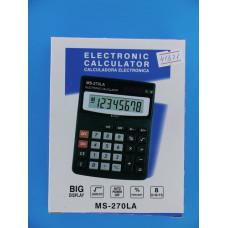 Калькулятор MS- 270LA (8 разр.,настол.,больш.кн. и диспл.)