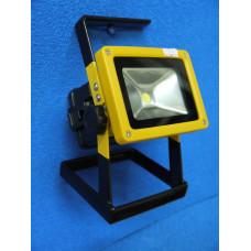 Прожектор светодиодный LED аккум 30W №201 сеть+авто