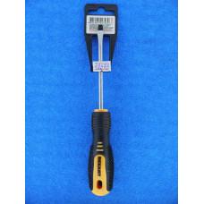 Отвертка (-) SL5 х100 мм, двухкомпонентная рукоятка Rexant/12-4722
