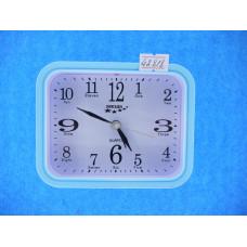 Часы Будильник Quartz 8054 Р2-37 кварц синие
