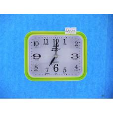 Часы Будильник Quartz 8054 Р2-37 кварц зеленые