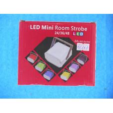 Стробоскоп LED мини 36 RGB диодов 5050 (13х6х10.5см)/ Е2  XKCL-36RGB