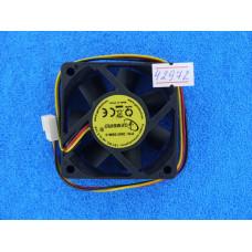 Вентилятор  60*60*15 3pin  D6015SM-3, втулка,провод 25см