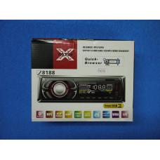 Авто магнитола  8188  FM+ USB +AUX +Bluetooth