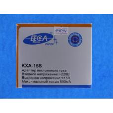 Блок питания Eleca KXA-15S  15 V  0,5А
