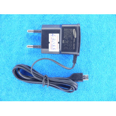 Адаптер 220 => micro USB (со шнур) 5V 0,7A Samsung MRM- i9000 1,2м пак