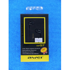 Наушники AWEI ESQ7 вакуум/С282