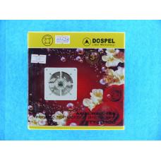 Вентилятор Dospel d=100мм метал. вытяжной канальный,провод (220В,15Вт)