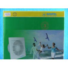 Вентилятор Dospel d=150мм канальный,выкл-цепочка (220В,15Вт)