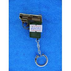 Зажигалка  брелок пистолет 1-991