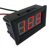 Вольтметр цифровой 12V  4,5-120 В постоян.напряж.