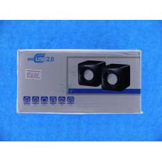 Акустич.система 2.0  SP-01 /FС-2 mini (пит. USB) А593
