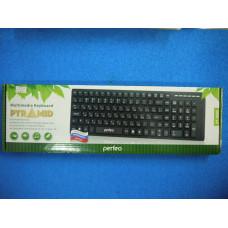 Клавиатура Perfeo PYRAMID Multimedia PF-8005 ,USB,черная