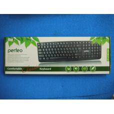 Клавиатура Perfeo PF-6106 стандартная ,USB,черная