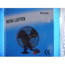Вентилятор в авто MJ-40A от прикур. 12V мет.,пласт. (45048) 1/1/60