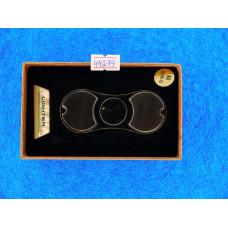 Зажигалка Lighter Спиннер Черный, без пламени +USB, LED-подсветка