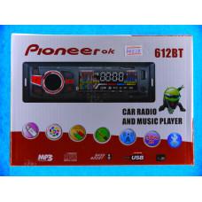 Авто магнитола Pioneeir ok GB DEN-681E FM+USB+AUX +MICRO