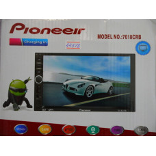Авто магнитола Pioneeir ok P-7000-8000 двухдин. Bluet.TV.MP-5.GPS.usb