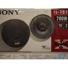 АвтоДинамики Sony 16sm 300w800w TS-1610решетки в комплекте 2шт