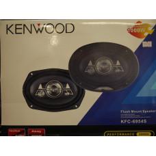 АвтоДинамики KENWOOD 6*9 400w-1200wKFC-6954S решетки в комплекте 2шт