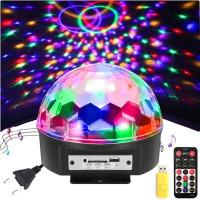 Цветомузык. шар на подставке Звезда 577+динам+ПДУ+Flash USB SD/Х-1