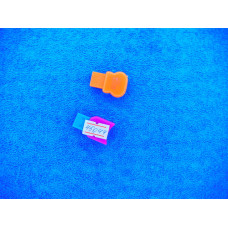 Адаптер USB card reader micro SD цветной без упаковки