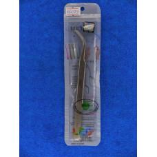 Пинцет для ремонта телефонов 160*0,2  AAA-15S загнутый остроносА752