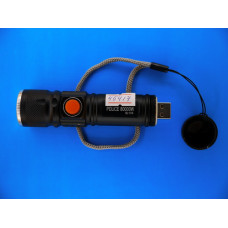 Фонарь аккум. ручной POLICE BL-515 1диод +USB