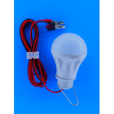 Автопереноска светод. лампа  5W с зажимами