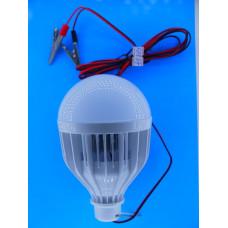 Автопереноска светод. лампа 18W с зажимами