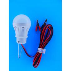 Автопереноска светод. лампа  3W с зажимами