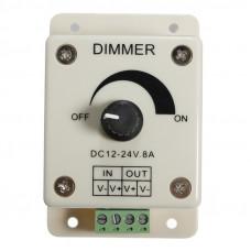 Регулятор мощности по току - диммер DC12-24V max 8A