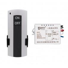 Дистанционный цифровой выключатель HL 1пульт on/off +1блок/1 нагрузка