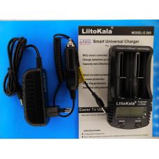 Зар. устр. для аккум. LitoKala Li-ion Lii-E260 4.2V 1,5A авто+сеть 2ак