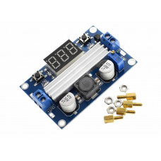 Регулятор напряжения DC-DC LTC1871 100W max9A 3V 35V с дисплеем повыш.