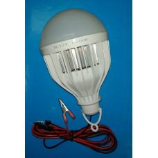 Автопереноска светод. лампа 21W с зажимами
