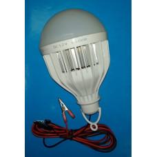 Автопереноска светод. лампа 30W с зажимами