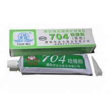 Герметик силиконовый 704 для электронных устройств 45мл (чёрный)