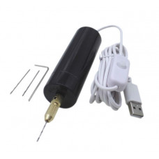 Минидрель XZF-5VZ11 цанга (USB 5В, 16000 об/мин), + набор (4pcs)